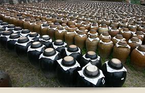 伝統のあまん壺仕込み
